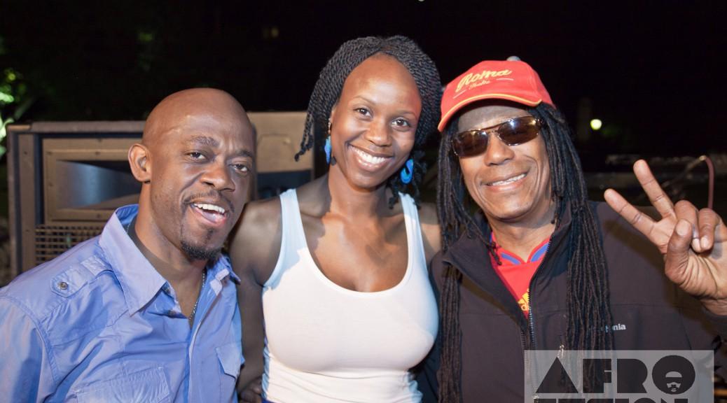 Afrofusion TV's Riziki with Kurlou and Junior Marvin