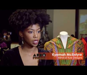 Kyemah McEntyre debuts design collection at Harlem Fashion Week