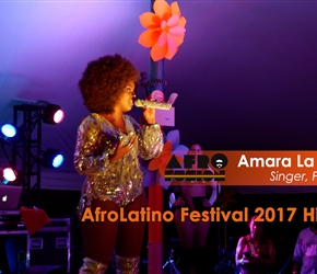 Tribute to Diaspora Women at AfroLatino Festival NYC 2017