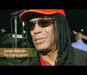 REGGAE GUITARIST JUNIOR MARVIN TALKS WITH AFROFUSION TV
