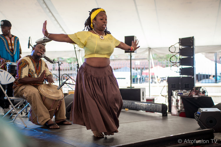 Bodoma Garifuna at the Afro-Latino Festival NYC 2015